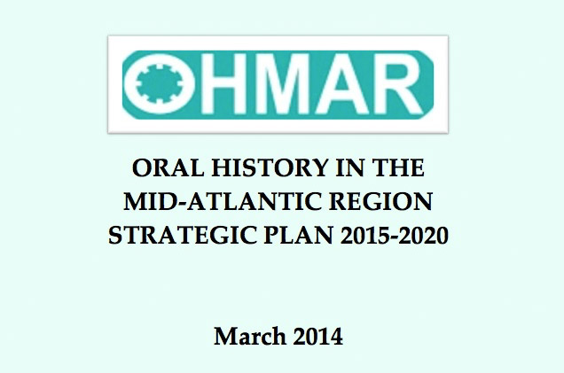 OHMAR 2015- 2020 Strategic Plan